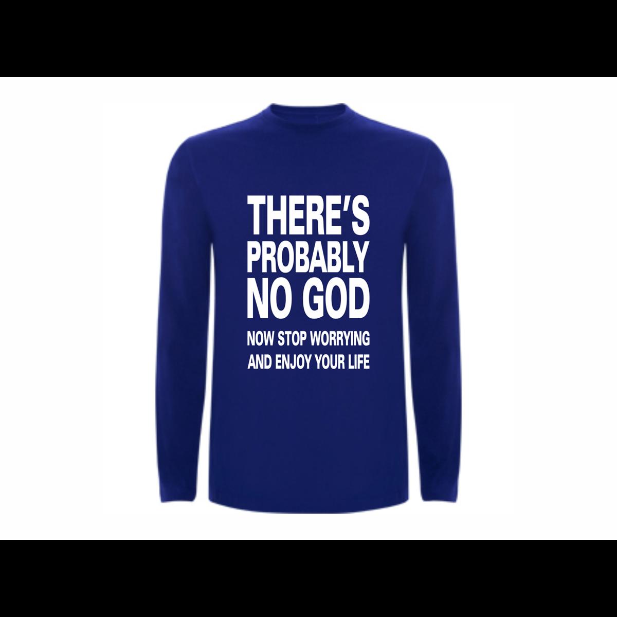 T shirt LS No God