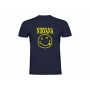 woman t shirt ls nirvana. Black Bedroom Furniture Sets. Home Design Ideas