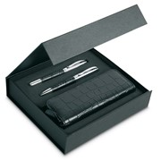 ANNECY - Pen set and pouch in PU case