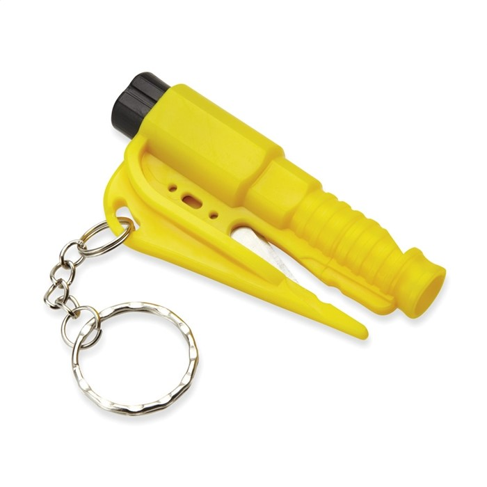 AUTOSECU - SAFETY TOOL KEY RING