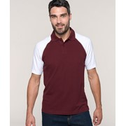 Baseball - Short-Sleeved Polo Shirt