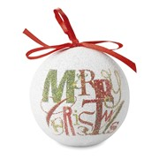 BLANCA - Christmas bauble pearl finish