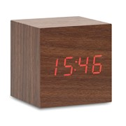 BUENOS AIRES MINI - LED clock in MDF