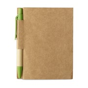 CARTOPAD - Memo note w/ mini recycled pen