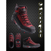 Causeway Waterproof workwear safety shoes hiker