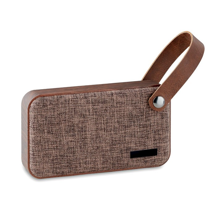 CLASSIC - BLUETOOTH SPEAKER W MDF FABRIC