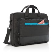 "Elite 15"" Laptop-Tasche Mit Usb-Port"