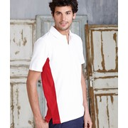 Flag - Short-Sleeved Two-Tone Polo Shirt