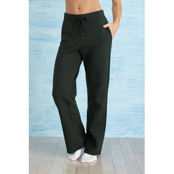 GILDAN HEAVY BLEND LADIES OPEN BOTTOM SWEATPANTS