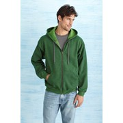 GILDAN HEAVY BLEND VINTAGE CLASSIC ADULT FULL ZIP HOODED SWEATSHIRT