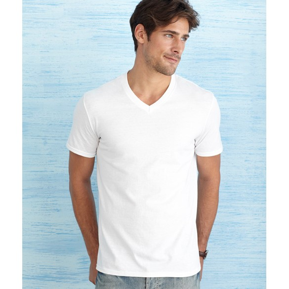 GILDAN SOFTSTYLE ADULT V-NECK T-SHIRT