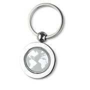 GLOBY - Globe metal key ring