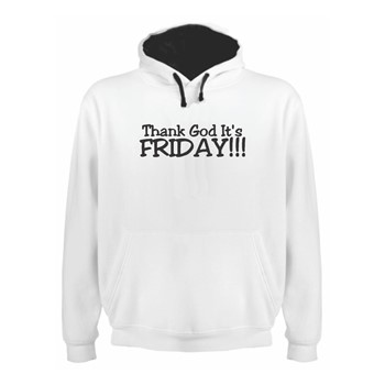 Hoodie Thank God It's Friday
