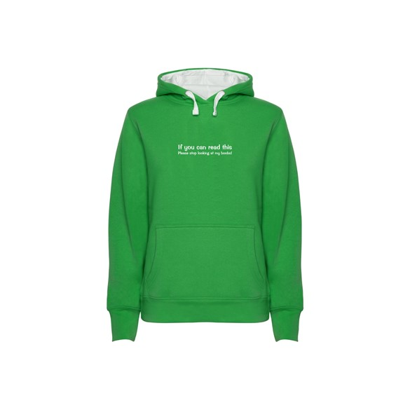 Hoodie women's If you can...