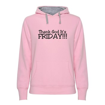 Hoodie women's Thank God It's Friday