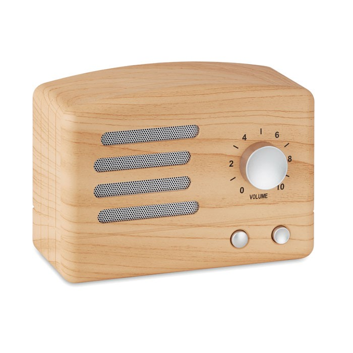 JACKSON - WOODEN LOOK BLUETOOTH SPEAKER
