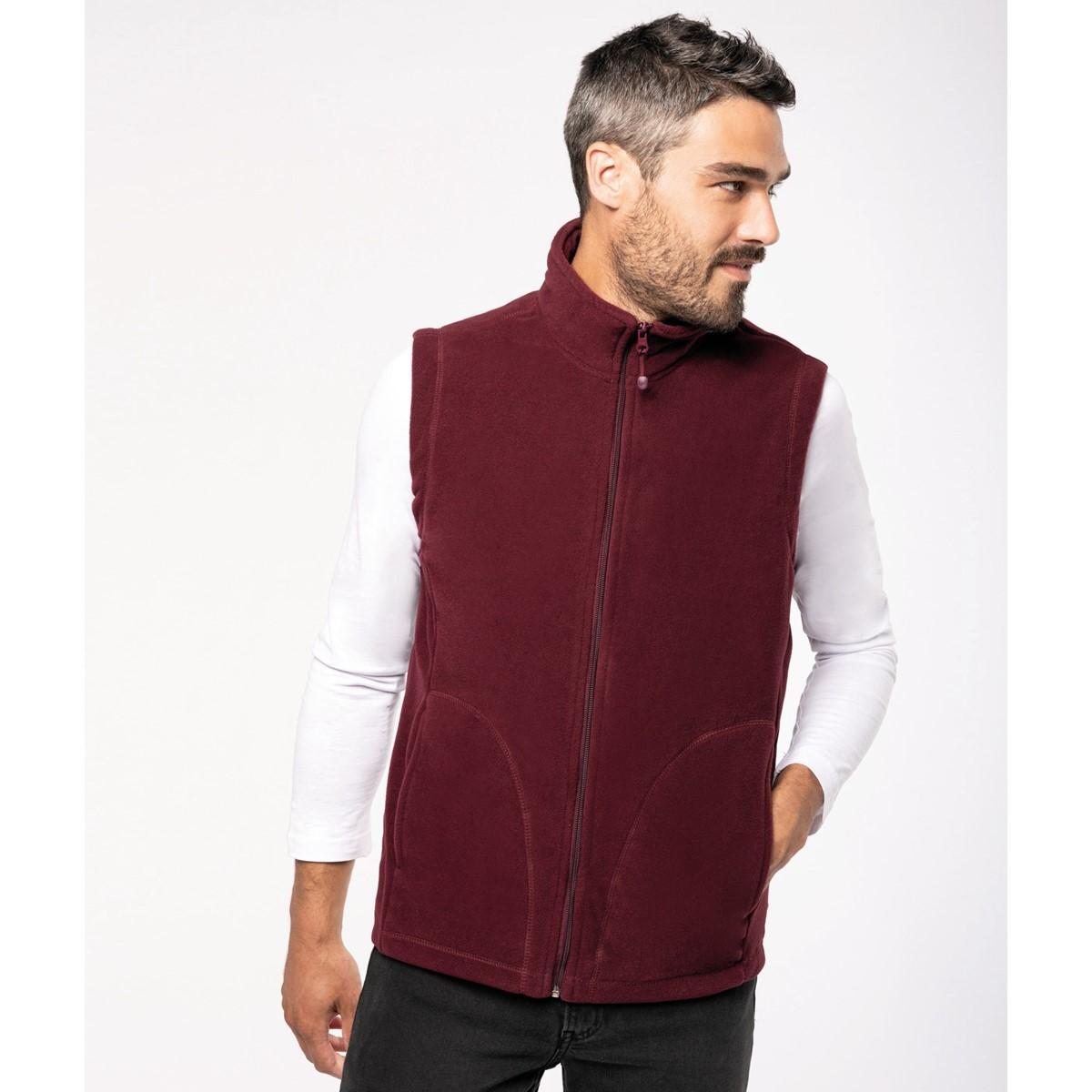 Kariban Mens Luca Gilet Bodywarmer Fleece Jackets