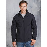 KARIBAN MENS HOODED SOFTSHELL JACKET