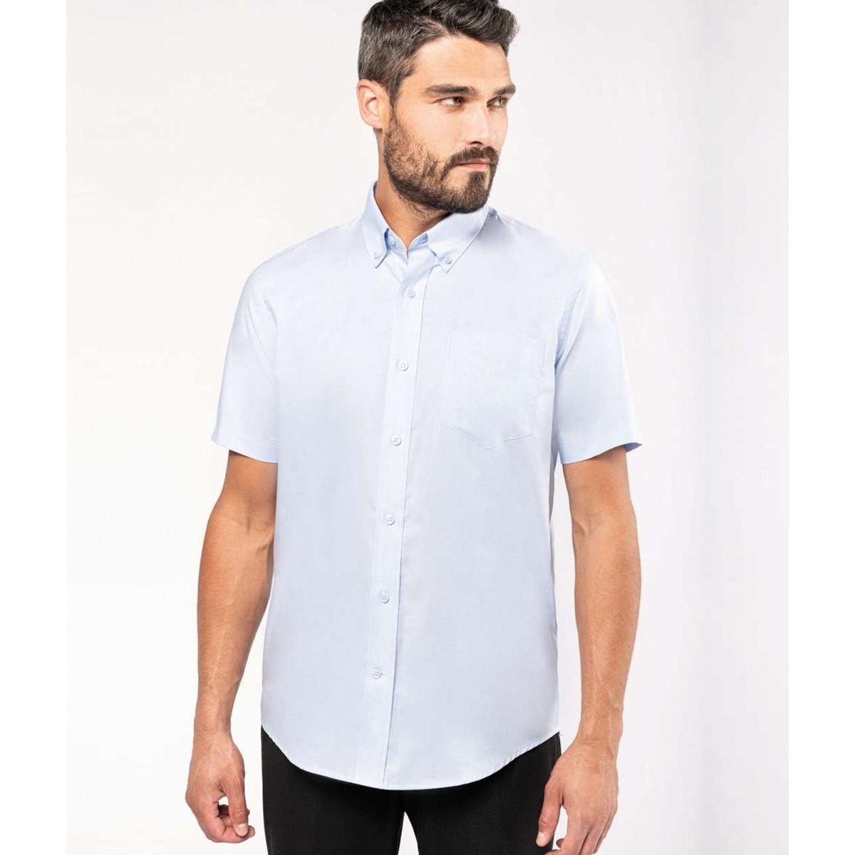 Kariban Mens Short Sleeve Easy Care Oxford Shirt