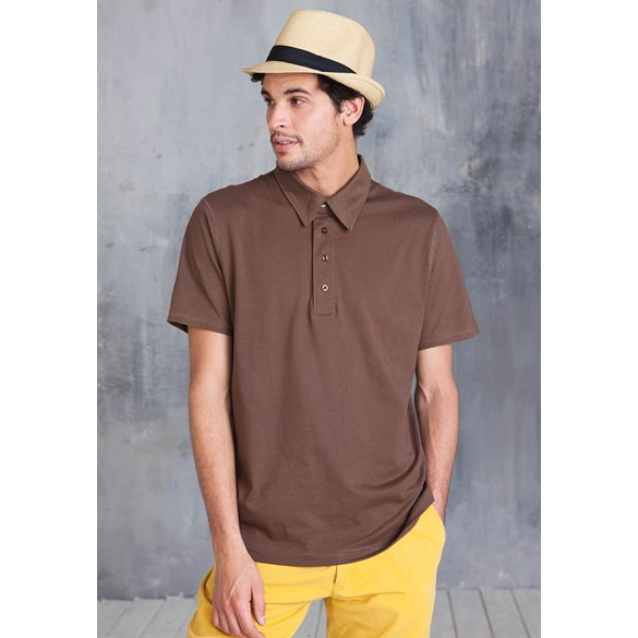 KARIBAN POLO JERSEY SHORT SLEEVE POLO