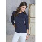LADIES' LONG SLEEVE JERSEY POLO