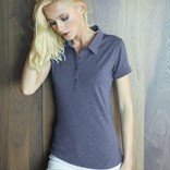 "LADIES' SHORT SLEEVE ""BLEND"" POLO SHIRT"
