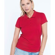 Ladies' Piqué Short Sleeve Polo Shirt