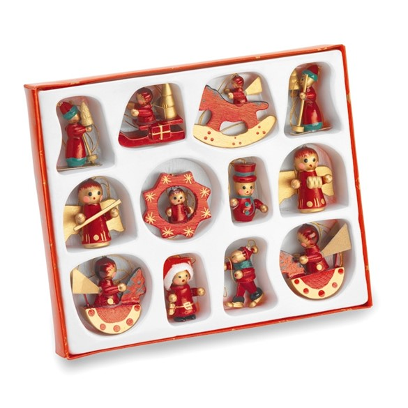 LAPONIA - 12 pieces Christmas decoration