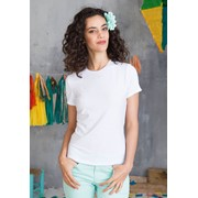 MAÏA – LADIES' SHORT-SLEEVED CREW NECK T-SHIRT