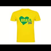 Majica Brasil Heart