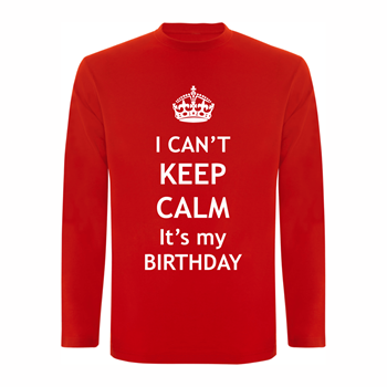 Majica DR Calm Birthday