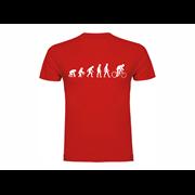 Majica Evolution of Cycling