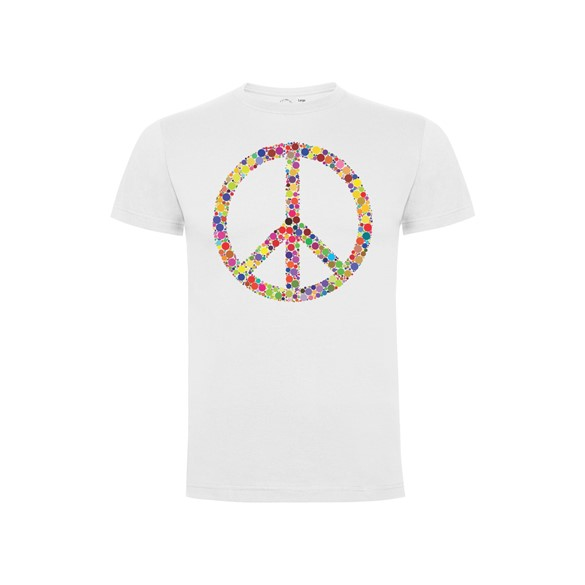 Majica Peace dots