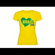 Majica ženska Brasil Heart