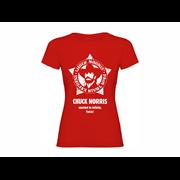 Majica ženska Chuck Norris Star