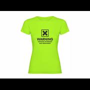 Majica ženska Warning
