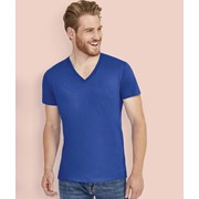Master Men'S Deep V-Neck T-Shirt