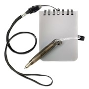 MEMOMINI - Notebook with pen and lanyard