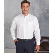 Men's Long-Sleeved Oxford Shirt