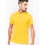 MENS SHORT SLEEVE PIQUE POLO SHIRT