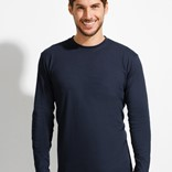 MONARCH - MEN'S ROUND COLLAR LONG SLEEVE T-SHIRT