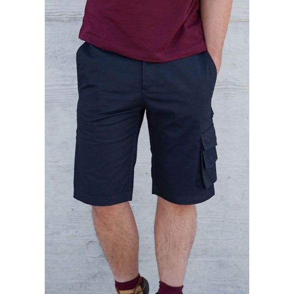 MULTIPOCKET WORKWEAR BERMUDA SHORTS
