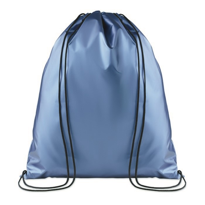 NEW YORK - DRAWSTRING BAG SHINY COATING