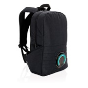 Party music backpack, black
