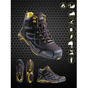 Prime Softshell Workwear Safety Shoes Hiker