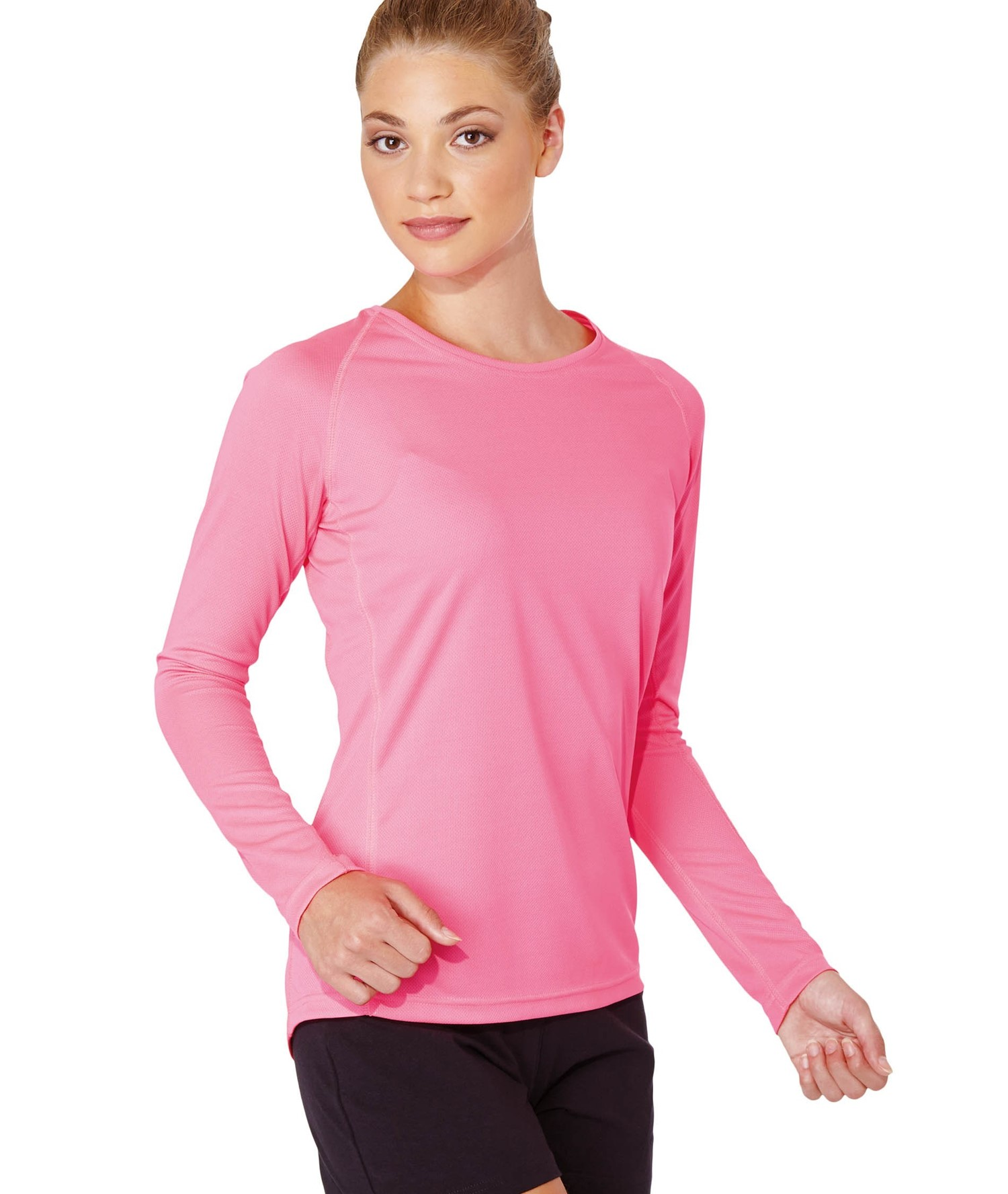 PROACT LADIES LONG SLEEVE SPORTS T-SHIRT