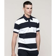 Ray - Short-Sleeved Striped Polo Shirt