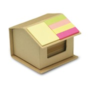 RECYCLOPAD - Recycled carton sticky notes