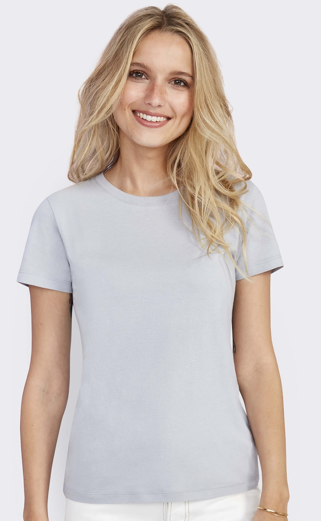 REGENT WOMEN - ROUND COLLAR T-SHIRT