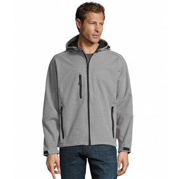 REPLAY MEN - HOODED SOFTSHELL